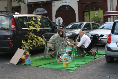 parking day 2010 angers Place Imbach