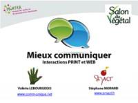 Mieux communiquer : intégrer les outils web et print